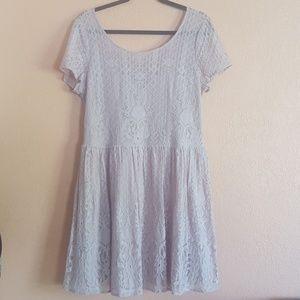 Forever 21 Mauve Lace Dress